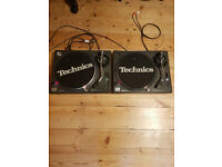 Technics SL-1210 MKII + Vestax Mixer PCV-275