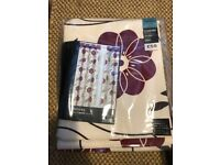 3 x Brand new next floral curtains