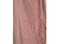 Roman Original Ladies Lace Dress size 20 Rose Pink