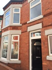 Aigburth 3 bed House for rent, totally refurbished to a very high standard.