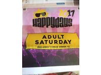 4x Happy Days Tickets for Saturday