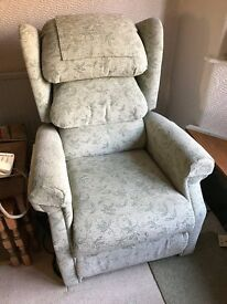 """Ellen"" Riser Recliner Chair in Excellent Condition"