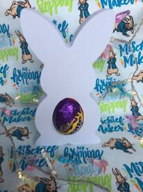 Personalised handmade easter creme egg holder