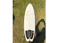 5'10 GUL CROSS SURFBOARD