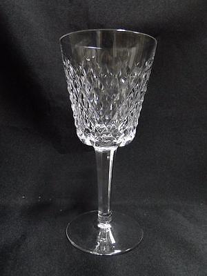 Crystal Cut Cross (Waterford Crystal Alana, Cut Cross Hatch: White Wine (s), 5 5/8