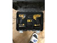 Dewalt twin pack impact driver battery charger
