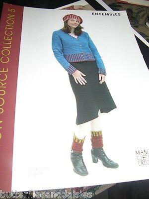 Manos Del Uruguay Design Source Ensembles Collection 5 Knitting Book