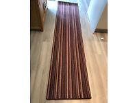 Quality striped carpet runner