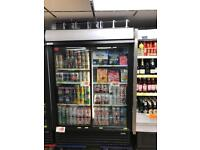 Retail fridges