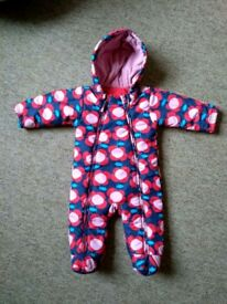 Marks and Spencer 3/6 months snowsuit