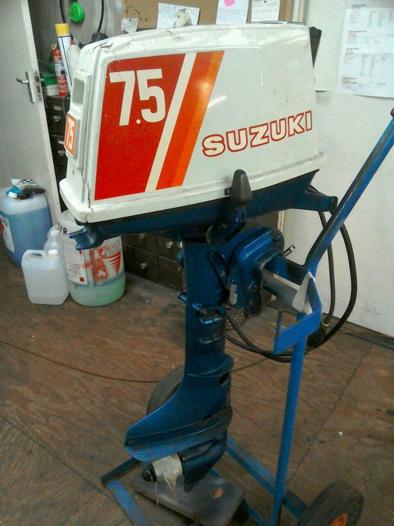 Suzuki 7 5 Hp 2stroke Outboard Engine In Norwich