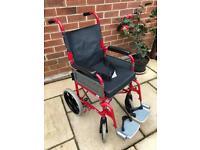 Wheelchair Ben 9 folding lightweight