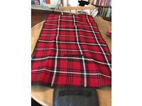Small waterproof picnic blanket