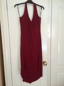 Gorgeous Halterneck Red Prom/Party Dress (12/14)