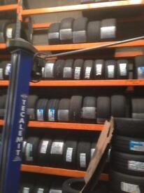 RANGE OF PART WORN TYRES