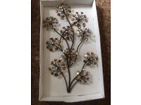 Amber metal wall art new