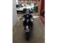 Piaggio Vespa PX 123cc, very low mileage ex condition, full service history, original paperwork