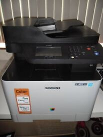 Samsung CLX-4195FW All-In-One Colour Laser Wireless Printer Scanner Copier