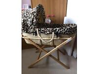 Moses Basket and Extras