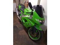 Kawasaki Ninja 900 1999 excellant condition