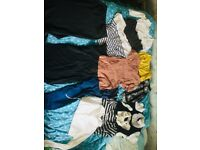 Size 10 maternity pregnancy clothes bundle