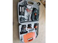 Black & Decker power tools with case & box
