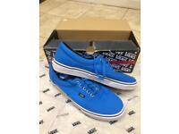 Blue Classic Vans Size 9