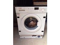 BOSCH WIS28441GB Integrated Washing Machine, 7kg, 1400rpm, 15min QUICK WASH, A+