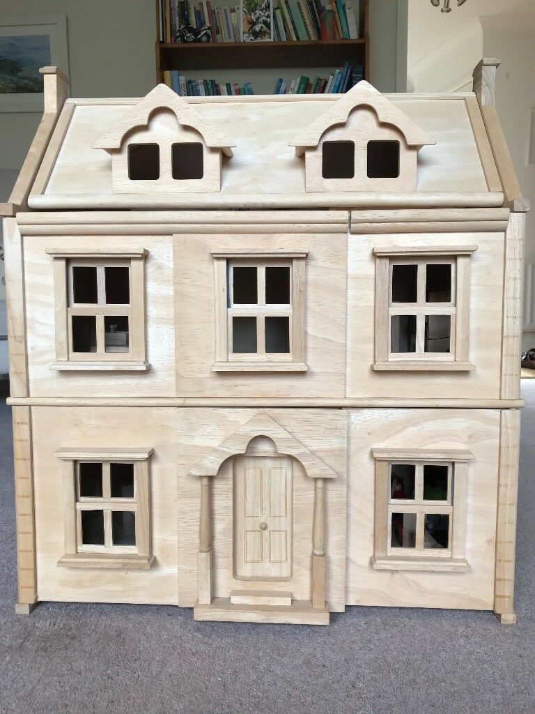 Wooden Dolls House Plan Toys Victorian House In Trowbridge