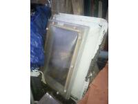 Dome window, double glazed, polycarbon, used