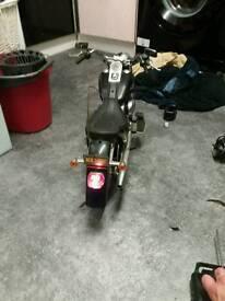 Harley Davidson radio controlled bike