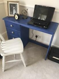 Restored desk and chair