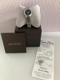 Ladies genuine Gucci diamond set watch