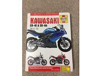 Kawasaki er6f/n Haynes manual