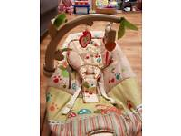 Musical baby chair