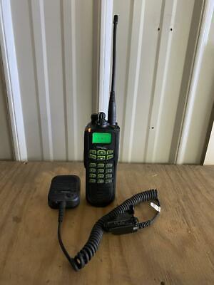 Ef Johnson Ascend Es 5100 700800 Mhz Fm Digital P25 Trunking Radio W Box Mic