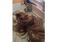 Balmain Memory Hair Extension Piece Clip in Instant Updo Scrunchie