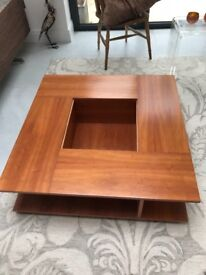 Modern, Wooden and Elegant Habitat coffee table