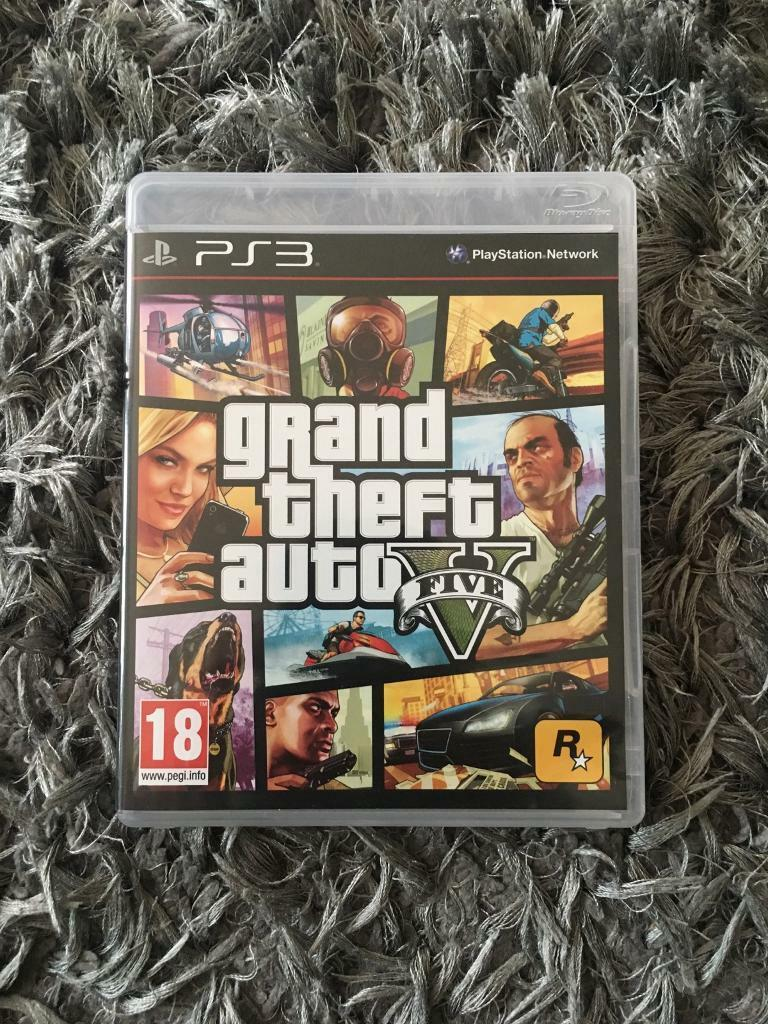 PS3 GTA 5in Poole, DorsetGumtree - PS3 Grand Theft Auto 5. Selling as no longer have a PS3. Selling for £6
