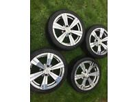 Alloy wheels 195/45/R16