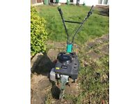 SOLD Qualcast Petrol Rotavator / Tiller used twice excellent condition £100