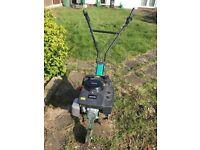 Qualcast Petrol Rotavator / Tiller used twice excellent condition £100