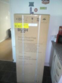 black bush frost free fridge freezer still boxed as they send me 2 200ono buyer picks up cumbernauld