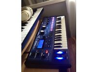 Mininova synthesiser vocoder in perfect working order