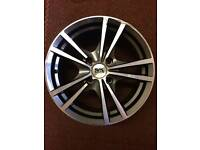 "BK Racing Alloy Wheel 15"" x 6 1/2 J - 4x108 - without tyre"