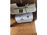 HP Colour Laser Jet CM2320fxi MFP. Printer, scanner, copier and fax machine.