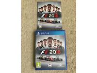 F1 2016 ps4 game ( PlayStation 4 games )