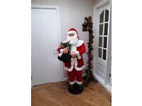 Singing and dancing santa