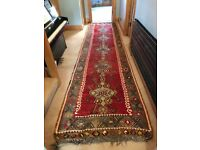 Authentic Turkish Long Rug/ Runner