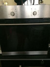 Logik electric oven & gas hob